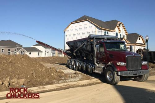 New truck slinging gravel for this new home build.
